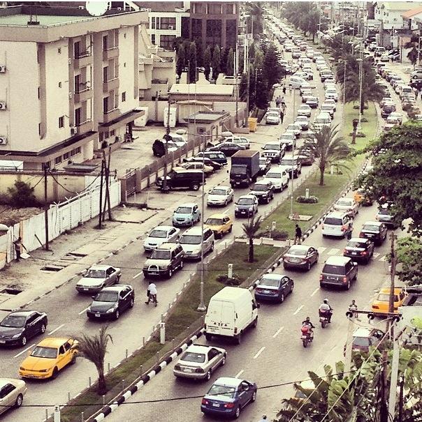 Light Lagos Traffic