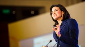 Facebook COO Sheryl Sandberg Lectures In Beijing