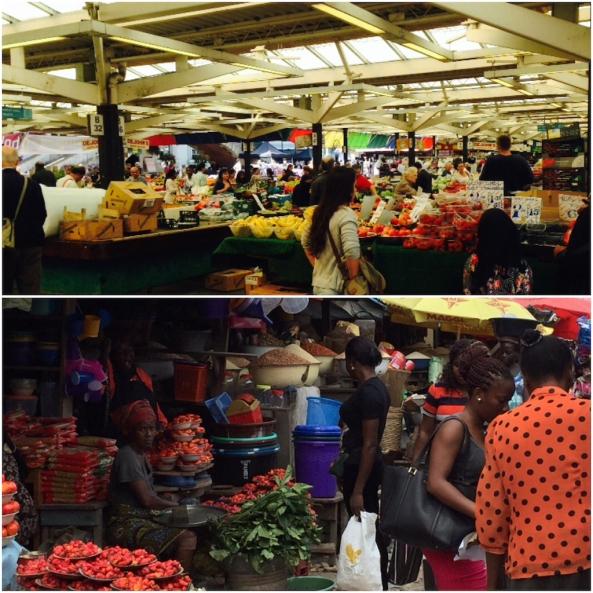 Leicester vs Lagos Market